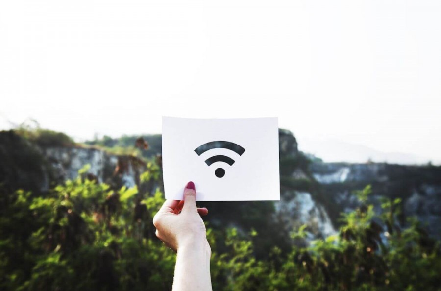 カナダ 留学 WiFiマーク