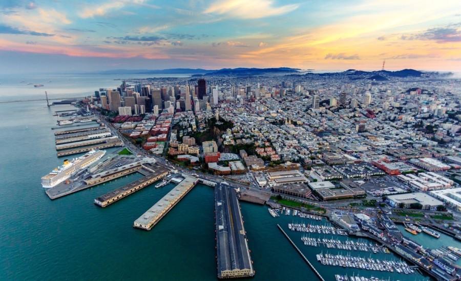 サンフランシスコの眺め