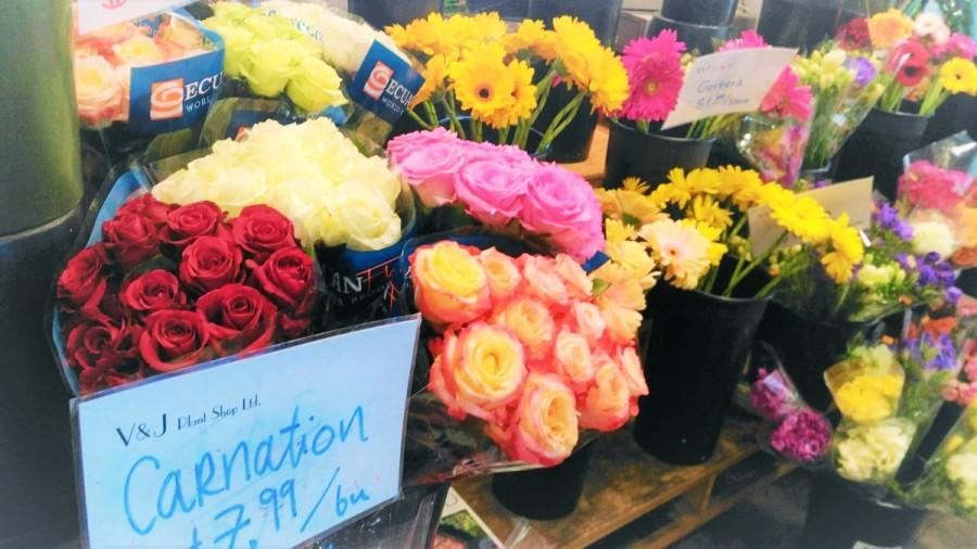 バンクーバーの花屋さん