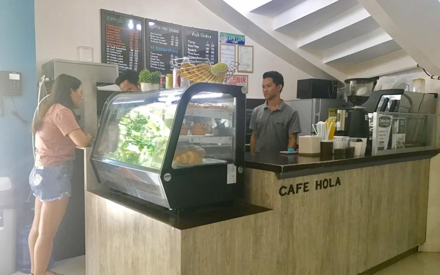 カフェの写真