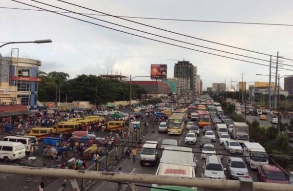 フィリピンの交通渋滞