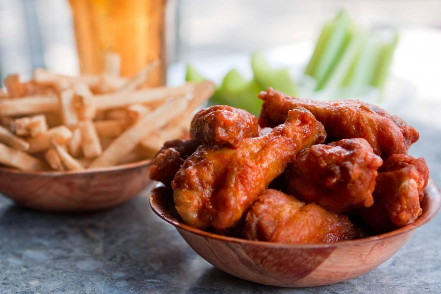 トロント レストラン Duff's wings