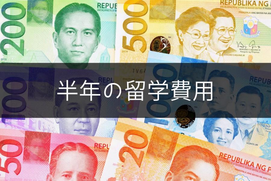 フィリピン 留学 費用 半年