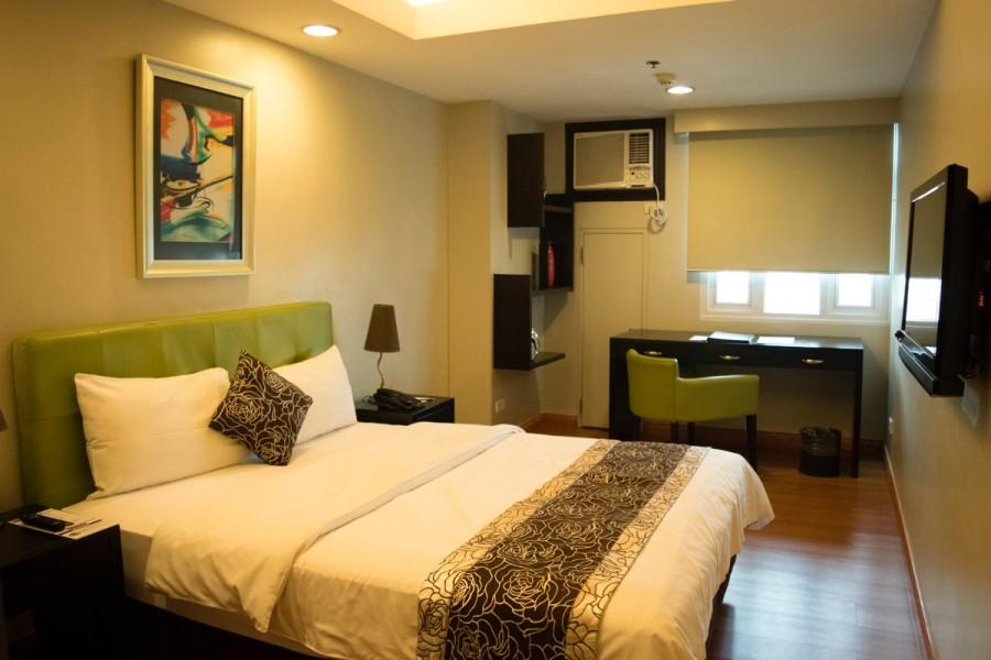 フィリピン留学の滞在先、ホテル