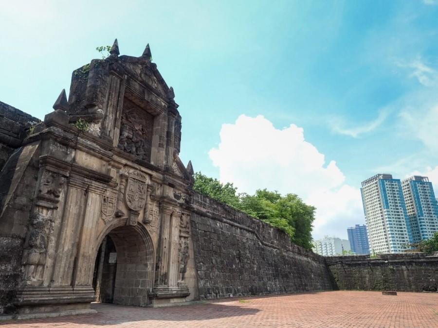 フィリピン 観光 サンチャゴ要塞