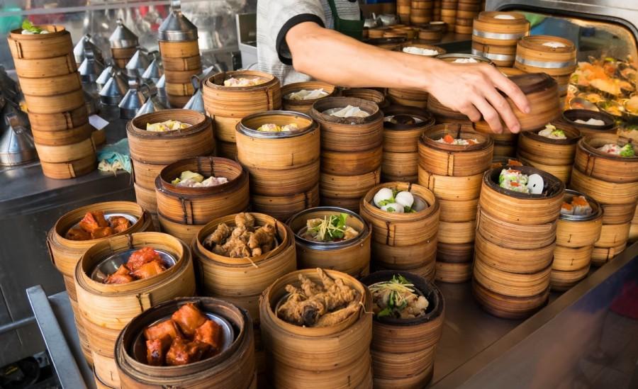 香港の食事