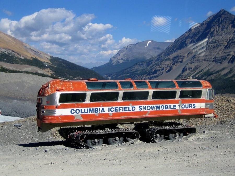 カナダ 観光 コロンビア大氷原