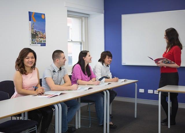 カプラン アデレードの授業風景