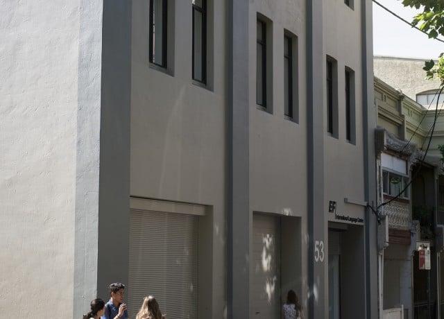 EFシドニーの校舎外観
