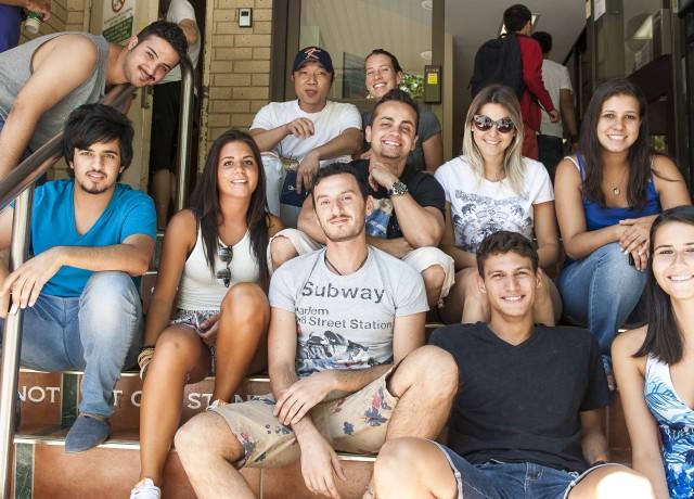 40カ国以上の生徒が在籍するインターナショナルな環境