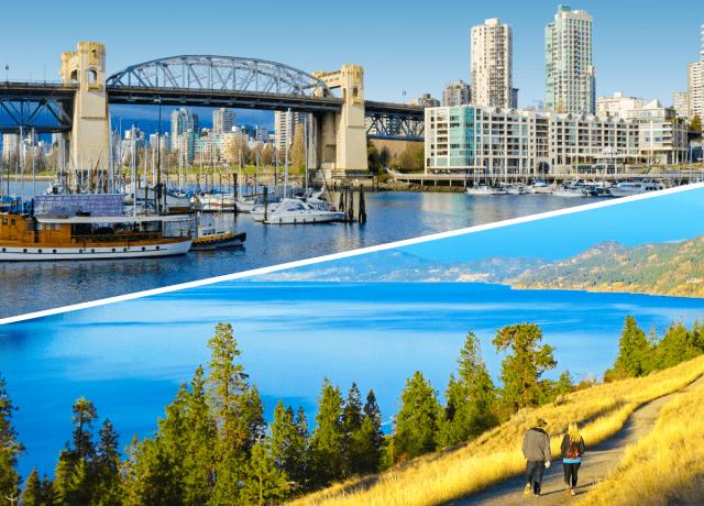 2都市留学で2つの異なるカナダの魅力を体験
