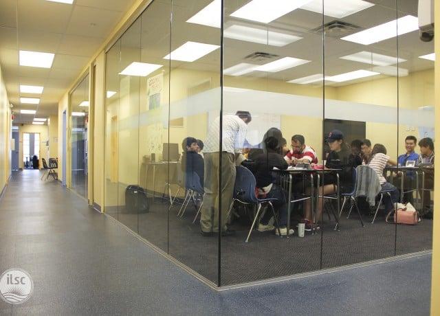 ILSC バンクーバーの授業風景