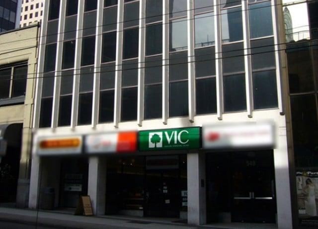 VICの校舎外観