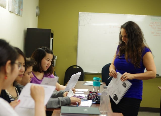 キャリアパスでビジネスやTESOLなどの専門コースが自由に受講できる