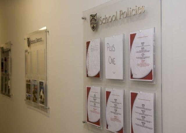 CLLC ハリファックスの校舎内観