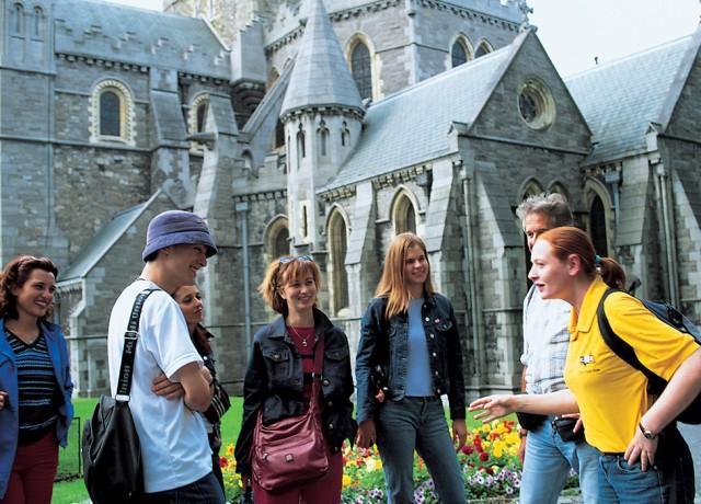 ダブリンの街の中心で40の教室を擁するキャンパス