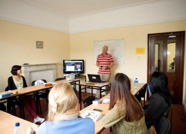 リンガヴィヴァの授業風景