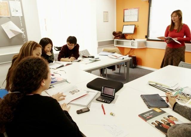 EC マルタの授業風景