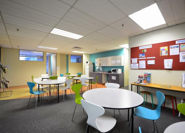 NZLC ウェリントンの校舎内観