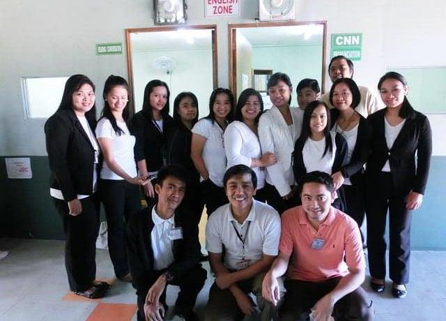 JIC Baguio パワースピーキング校のアクティビティ