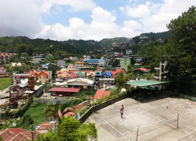 JIC Baguio パワースピーキング校の周辺環境