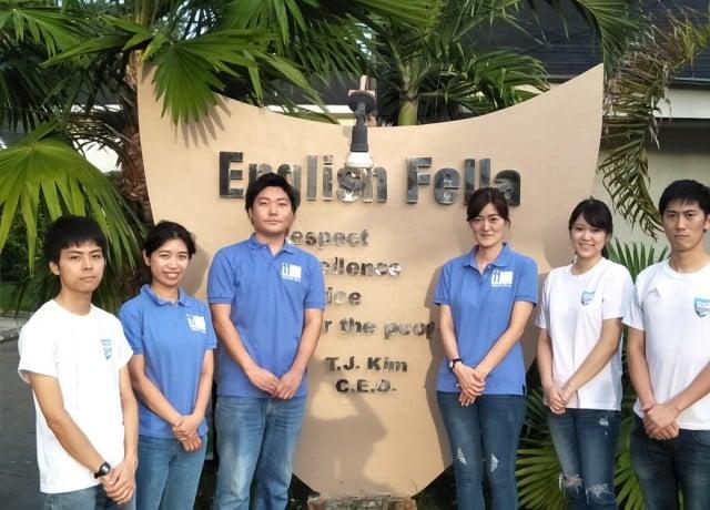 複数名の日本人スタッフが常勤しているので初めての留学でも安心!