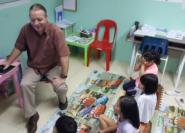 インターナショナル幼稚園を構え満足の親子留学