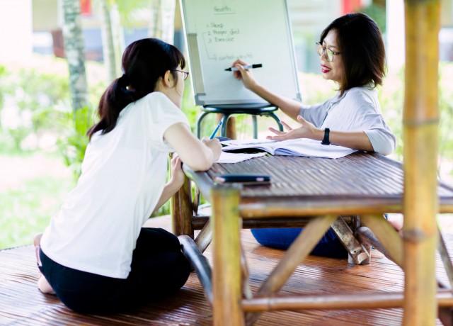 日本人を知り尽くしたカリキュラムと授業スタイル