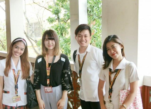 大学付属校で現地フィリピン人学生との交流や授業聴講が可能