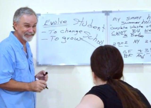 GeniusEnglishの授業風景