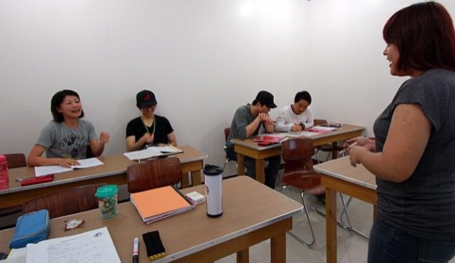 PINESチャピス校の授業風景