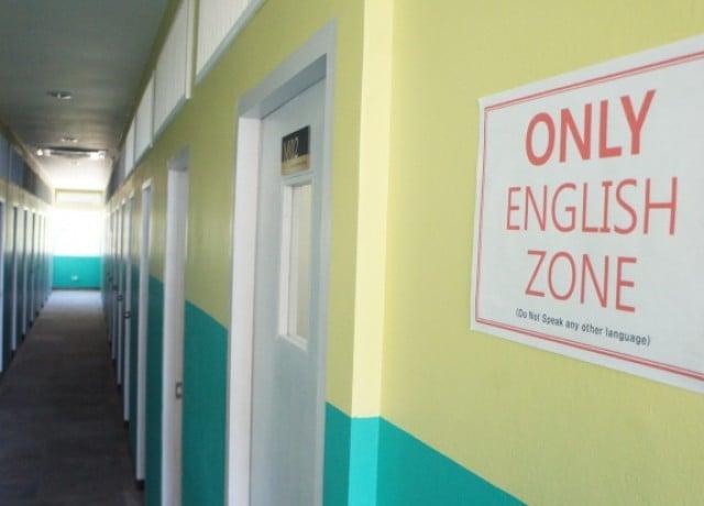 セブ海岸沿いのリゾート式CIJスパルタ校で集中英語学習