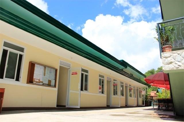 JICBaguioIntensiveBasicキャンパスの校舎外観