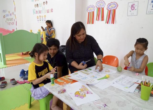 親子留学に自信あり!2歳半~6歳までの小さなお子様もご一緒にどうぞ!