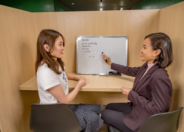 オーダーメイドのレッスンで個人個人に合ったオリジナルカリキュラムを提供