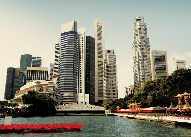 EF シンガポールの周辺環境