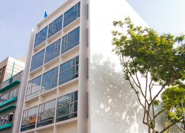 EF シンガポールの校舎外観