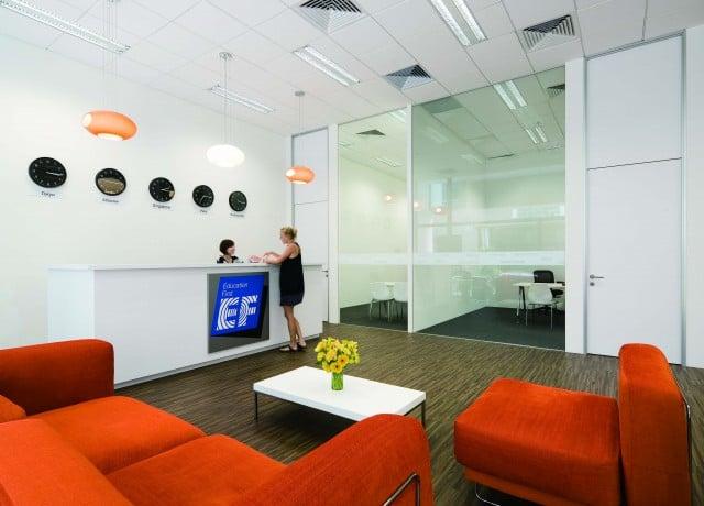 EF シンガポールの校舎内観