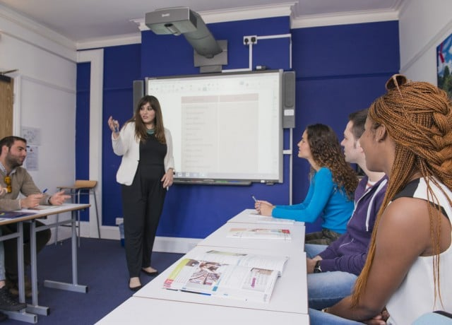 カプラン オックスフォードの授業風景