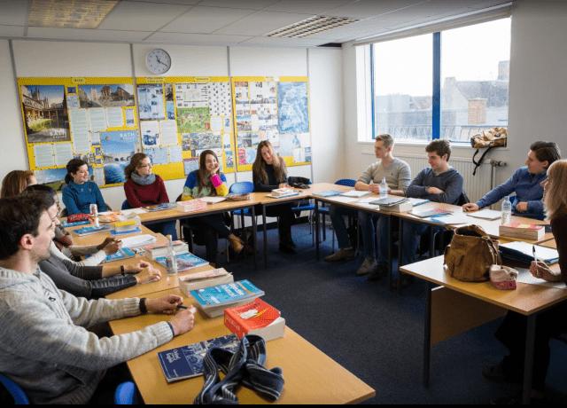 オックスフォード スクール オブ イングリッシュの授業風景