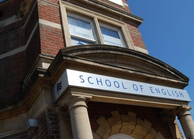 歴史ある校舎も魅力の1つ