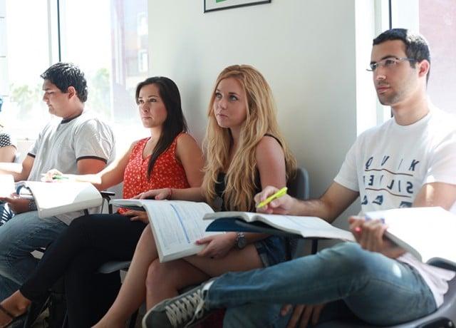 MLI ハリウッドの授業風景