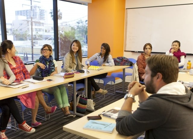 EC ロサンゼルスの授業風景