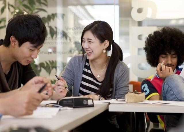 個人個人の留学の目的に合わせて、コース設定にもきめ細かな配慮