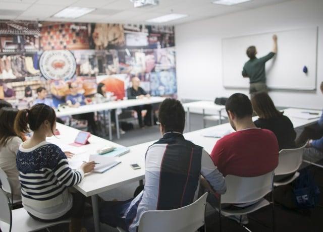 EF サンフランシスコの授業風景
