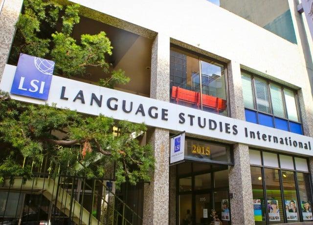 LSI サンフランシスコ バークレーの校舎外観