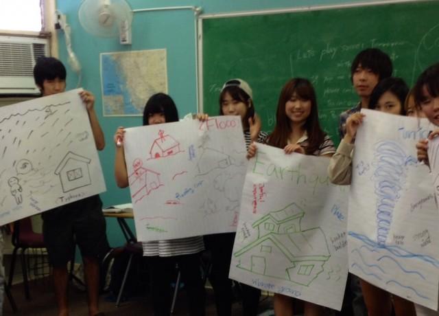 ボランティア活動でアメリカ文化を学ぶ