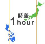 日本との距離が近い!
