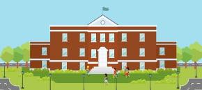 現地で大学生と交流できる、オンキャンパスタイプの語学学校一覧です。
