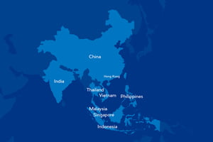 9ヶ国200案件以上の豊富な求人をご紹介